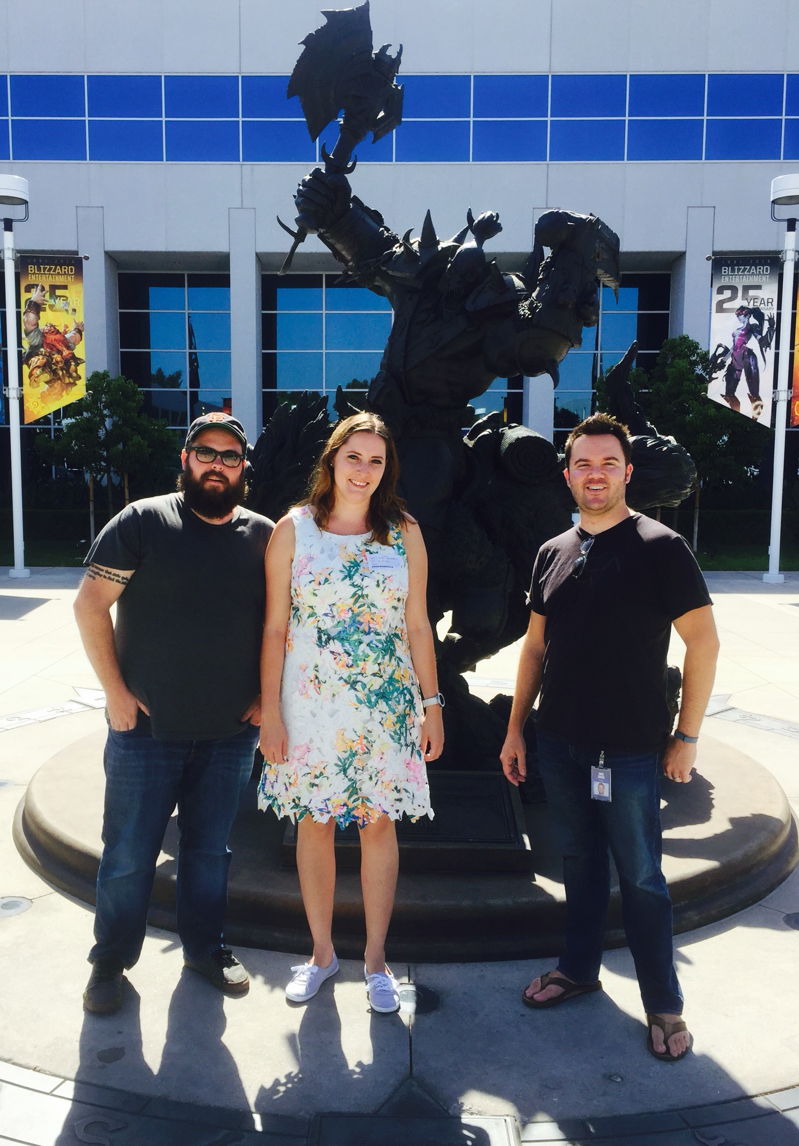 Carin at Blizzard Entertainment