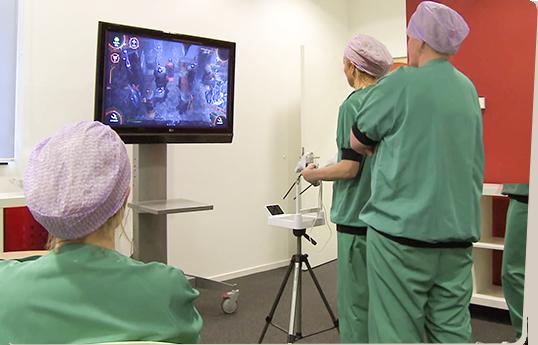 Chirurgen oefenen met Underground
